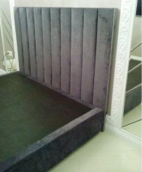 Кровать+стеновая панель