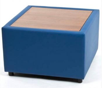 Угловой стол Матрик экокожа. Офисные диваны